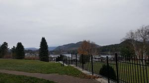 Lake Placid Village and Mirror Lake from Crowne Plaza Wednesday
